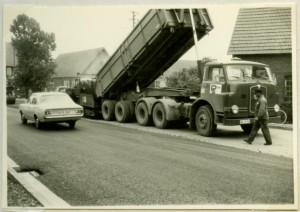 Straßenbau 1968