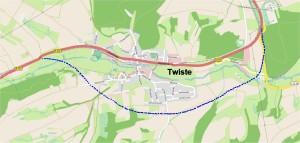 Ortsumfahrung Twiste